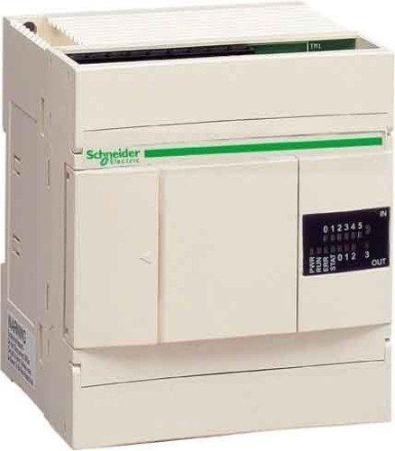 Schneider Electric TWDLCAA10DRF Cpu Extendible Twido, Alimentación 100-240 V Ca, 6 E 24 V Cc, 4 S Y Re