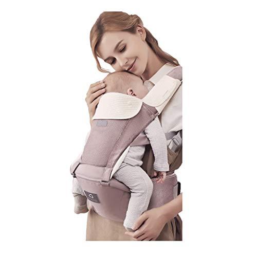 Porte-bébé Multifonction Bébé Respirant Assis sur la Taille Tabouret Amovible et indépendant Utilisation Quatre Saisons Universelle ( Color : A )