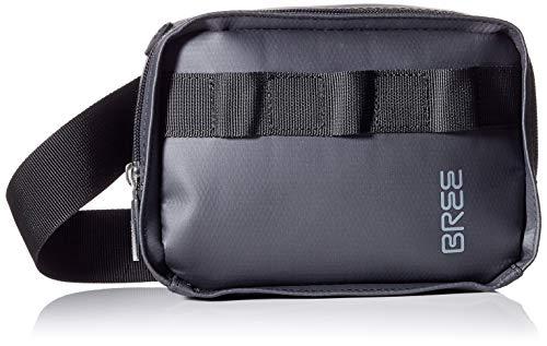 BREE Unisex-Erwachsene Pnch 727, Beltbag Umhängetasche, Schwarz (Black), 7x13x18 cm