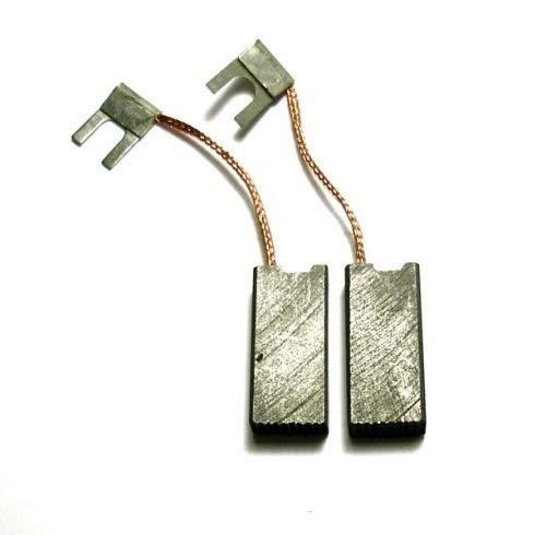 MGE escobillas de carbón Gomes, Compatible Bosch GBM 23-2 E, GBM 23-2