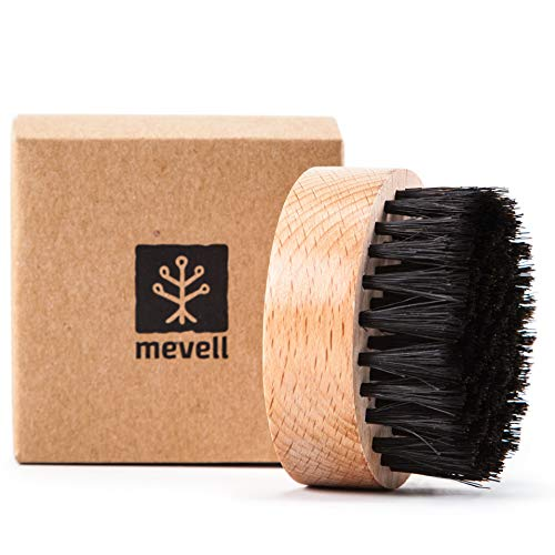Mevell Cleaning Scrub Brush for Cutting Boards and Butcher Blocks, Also Good for Cast Iron, Counter Tops, Dishes and Wood Utensils