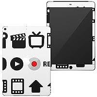 igsticker 第6世代 第5世代 iPad 9.7インチ iPad 6 / 5 2018/2017年 モデル A1893 A1954 A1822 A1823 全面スキンシール apple アップル アイパッド タブレット tablet シール ステッカー ケース 保護シール 背面 016204 録画 ビデオ