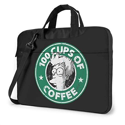 Hdadwy Futurama Cartoon Single Shoulder Laptop Bag Briefcase MultiSize Waterproof Travel