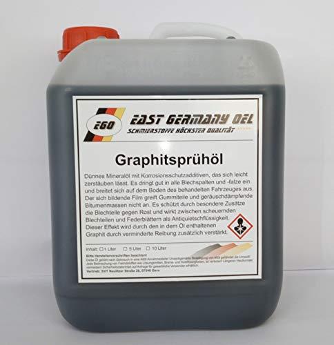 Graphitsprühöl Kanister 5 Liter