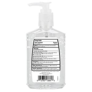 Germ-x Germ-x Hand Sanitizer, Original with Pump, 8 Fl Ounce (Pack of 12), 96 Fl Oz