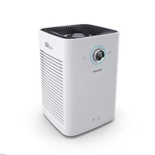 Philips Air Purifier Series 6000 with AeraSense Sensing, VitaShield IPS Technology & HEPA Filters Removing 99.97% 0.3µm Particles, White, AC6608/70 (B07D4J5P9V) | Amazon price tracker / tracking, Amazon price history charts, Amazon price watches, Amazon price drop alerts