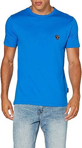 Lamborghini Automobili Herren B3XVB7T130260 Lamborghini Essential CAR T-Shirts, Blu Medio, M