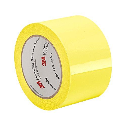 Tapecase 1350/F-2y 0,5/cm X72YD pk-2 266/gradi F performance temperature giallo pellicola di poliestere 3/m ignifugo nastro 1350/F-2 spessore: 0/cm lunghezza 65,8/m confezione da 2 larghezza 0,5/cm