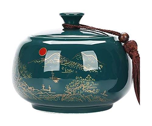 DIBAO Decoración de la Mesa de té Latas de té latas Retro...