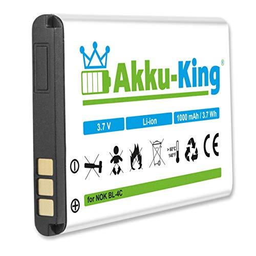 Akku-King Akku kompatibel mit Royaltek HEW-R02-1, A051 - Li-Ion 1100mAh - für GPS Bluetooth Maus HEWR021, RBT2110, 2010, 2300, 1000, 1100, Telekom Sinus A806