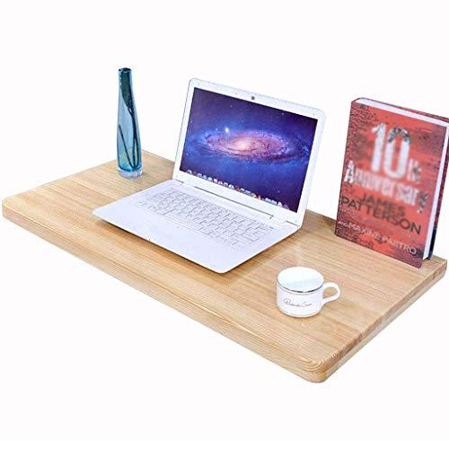 HXZ Massivholz-Wandtisch, Edelstahlhalterung, klappbare Werkbank, tragend 40-60 kg, für Schlafzimmer, Waschtisch