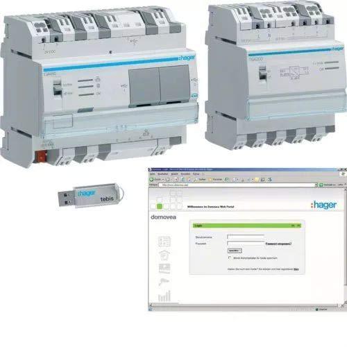 Preisvergleich Produktbild Hager TJA451 Steckdose Grau - Steckdosen (0-45 °C,  Grau,  IP20,  1 Stück(e))