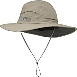 Outdoor Research Sombriolet Sun Hat - Breathable Lightweight Wicking Protection Khaki