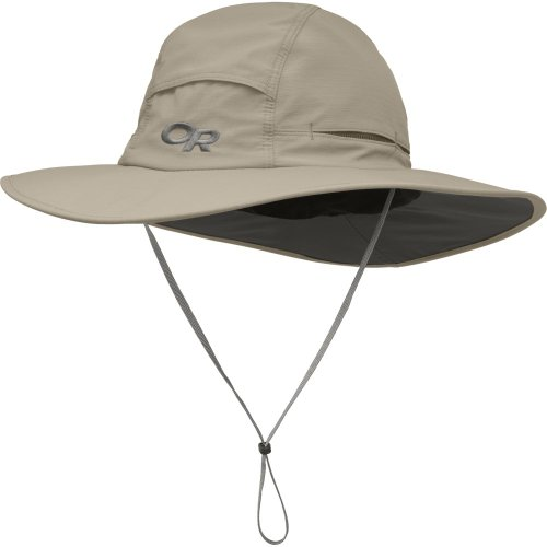 Outdoor Research Sombriolet Sun Hat – Breathable Lightweight Wicking Protection Khaki