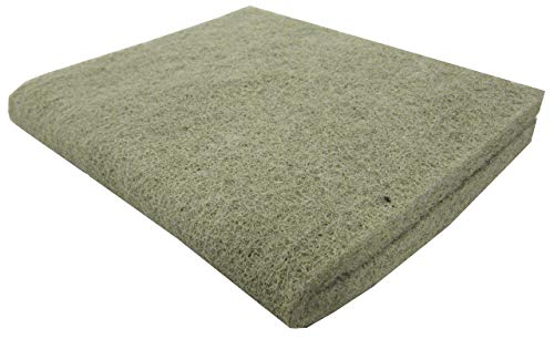 EA Premium Nitrate Reducer Filter Pad 18x10 - Cut to Fit for Aquariums and Pond