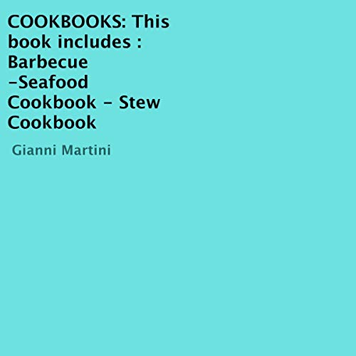 Cookbooks: 3 Books: Barbecue, Seafood Cookbook, Stew Cookbook cover art