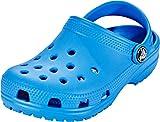 Crocs Classic Clog Kids Roomy fit Zuecos Unisex niños, Azul (Ocean 456), 32/33 EU