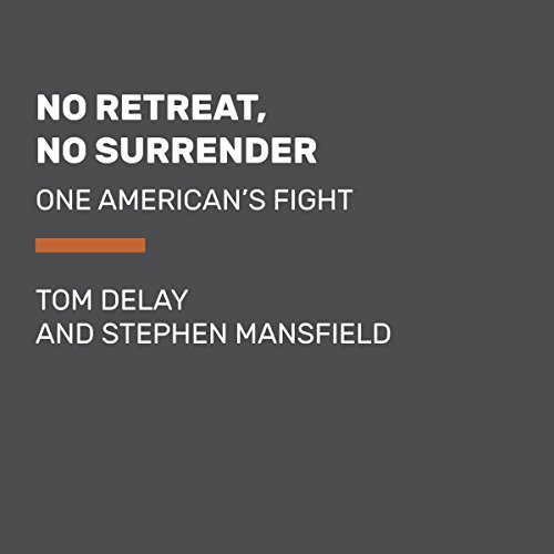 No Retreat, No Surrender audiobook cover art