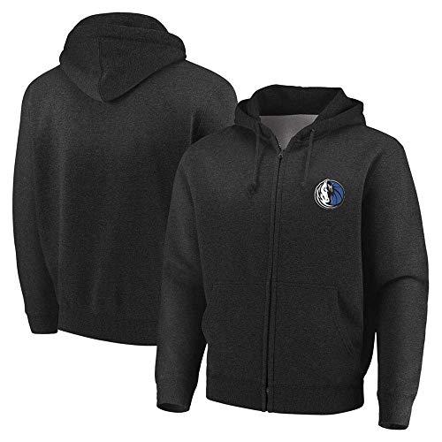 nba jerseys,Hooded Basketball Jacket voor Heren - NBA Lakers/Bucks/Mavericks Rits Hoodie Basketball Training Suit Fitness Kleding Jacket,(SIZE:S-XXL)