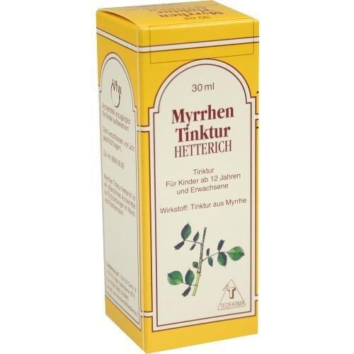 MYRRHENTINKTUR HETTERICH 30ml Tinktur PZN:3237665