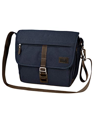 Jack Wolfskin Unisex-Erwachsene Camden Town sac à bandoulière Umhängetasche, Blau (Night Blue), One Size