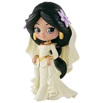 NEW Normal Banpresto Q Posket Disney Characters Jasmine Princess Style Figure