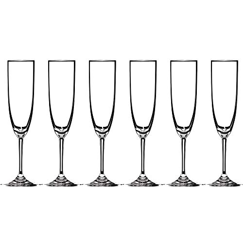Riedel Vinum Crystal Champagne Flute, Set of 6