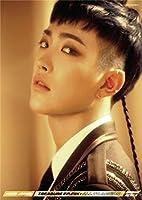 韓国のKPOPボーイグループATEEZ HONG JOONG 大人のためのダイヤモンドペインティングキットダイヤモンドアート5Dペイントダイヤモンド付き、DIYペインティングキットペイントナンバーバースデーギフト 40X50cm