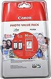 Canon PG-545XL+CL-546XL Cartucho de tinta original Negro XL y Tricolor XL para Impresora de Inyeccion de tinta Pixma TS3150-TS3151-MG2450-MG2550-MG2550S-MG2555S-MG2950-MG3050-MG3051-MG3052-MG3053-IP2850