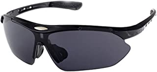 Polarized Cycling Sun Glasses Outdoor Sports Bicycle Glasses Bike Sunglasses(black)