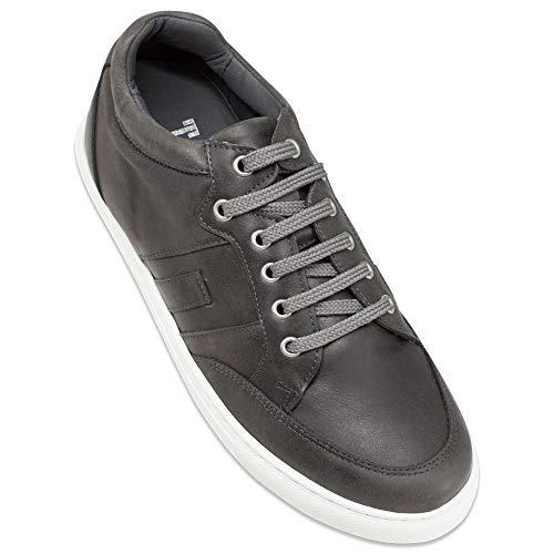 Masaltos Zapatos de Hombre con Alzas Que Aumentan Altura Hasta 7 cm. Fabricados EN Piel. Modelo Ibiza A