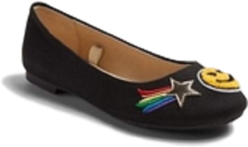 Stevies Adorbs Ballet Flats Girls Black Size 4