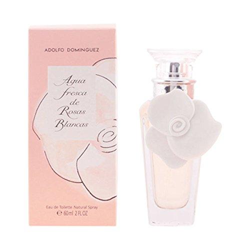 lasciati sorprendere con Adolfo Dominguez–Agua fresca Rosas Blancas Edt Vapo 60Ml 100% original y aumenta la tua femminilit con este exclusivo Perfume de Mujer con una fragancia única E.