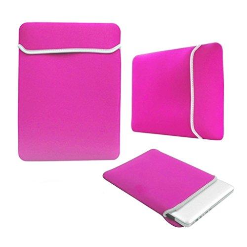 StyleBitz edición limitada, color rosa/-Funda de neopreno para portátil de 11,6