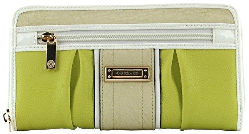JSI Gussaci Damenbörse Reißverschlussbörse GUSC-88 – Grün