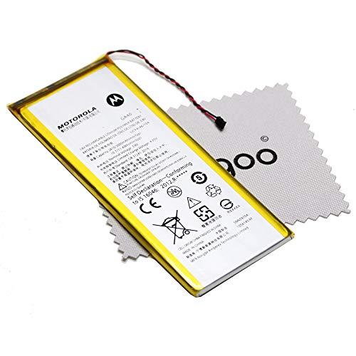 Batería para Motorola Original GA40 para Motorola G4 Plus 2810 mAh con mungoo pantalla paño de limpieza