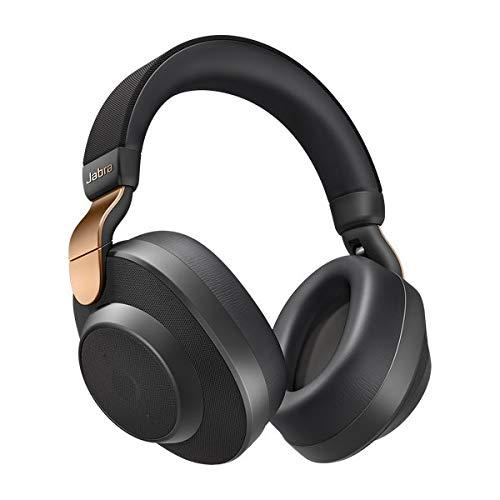 Jabra Écouteurs Circum-auriculaires Elite 85h Amazon Edition - Écouteurs Sans Fil à Réduction de Bruit Active avec une Longue Autonomie pour les Appels et la Musique - Noir cuivré