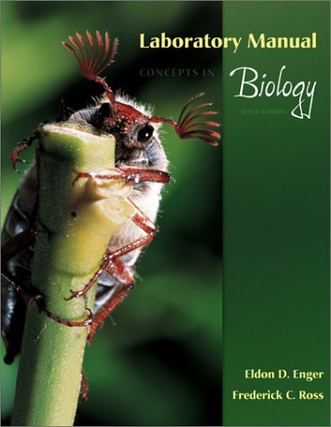 Laboratory Manual to accompany Concepts In Biology