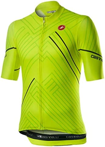 Castelli Passo Jersey Men s Yellow Fluo M product image