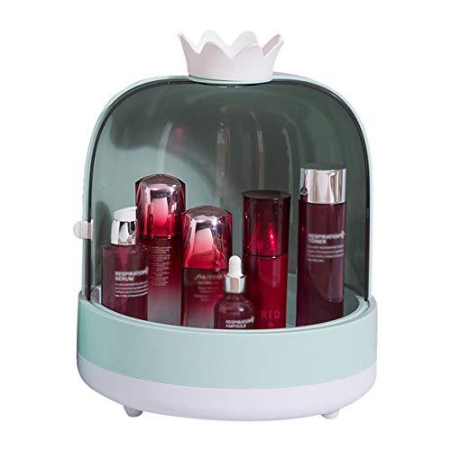 Nvshiyk Maquillage des boîtes de Rangement Boîte de Rangement de Produits de la Peau de la Peau de Bureau Boîte de Rangement de Bijoux de Grande capacité pour Meuble-lavabo et comptoir