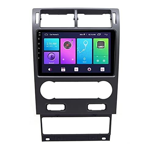 GPS Navegación Auto Multimedia Revertir Imagen Android 10.0 Video Receptor DVD Jugador Apoyo Vehículo Electrónica para F ORD Mondeo 2004-2007 Radio FM WiFi,S2