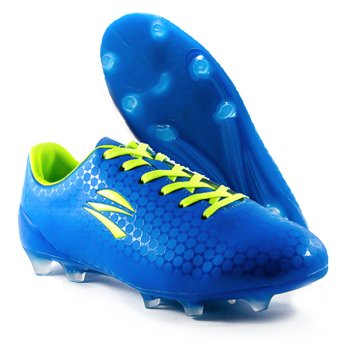 zephz Wide Traxx Premier French Blue Soccer Cleat Adult 10