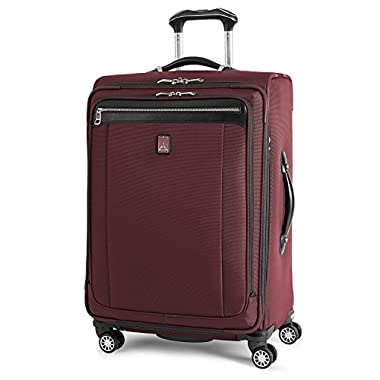 Travelpro Platinum Magna 2 Expandable Spinner Suiter Suitcase, 25-in, Marsala Red