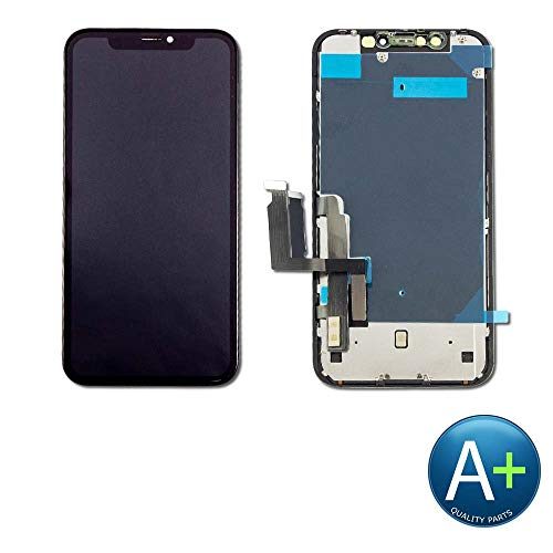 Group Vertical Replacement Touch Screen Digitizer LCD Display Assembly Compatible with Apple iPhone XR A1984, A2105, A2106, A2108 (6.1') (COF Assembly) (A+ Performance)