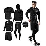 コンプレッションウェア セット スポーツウェア メンズ 長袖シャツ 半袖シャツ ハーフパンツ タイツ 吸汗速乾