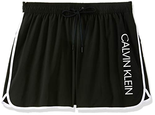 Calvin Klein Short Runner Pantalones Cortos, Negro (Pvh Black Beh), X-Large (Pack...