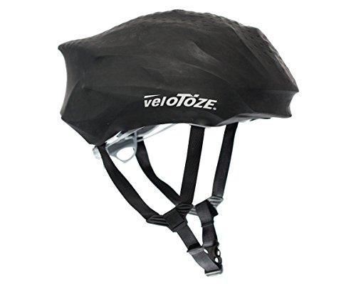 VELOTOZE(ヴェロトーゼ) ヘルメットカバー ブラック UV0B12HCBLK