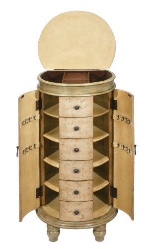 Hillsdale Summer Floral Jewelry Armoire
