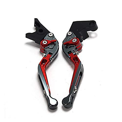 MSYQ Motocicleta Palancas De Freno De Embrague Ajustables CNC Extensibles Plegables para Motocicleta para Triu_mph RO-CKET III RO-ADSTER 2010-2016 Palanca (Color : D)