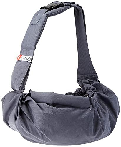 4Lazylegs PET Carrier Pocket Canvas Hundetragebeutel M, blau